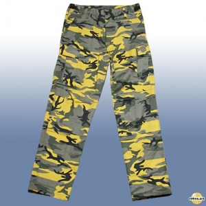 BDU Hose yellow camouflage