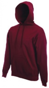 Hooded Sweater burgund