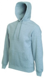 Hooded Sweater graumeliert
