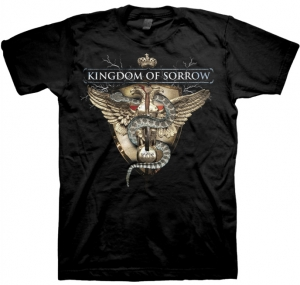 Kingdom Of Sorrow - Iron Eagle, US IMPORT T-Shirt schwarz