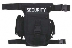 Hip Bag Security schwarz