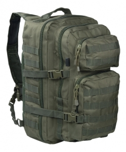 Mil-Tec Eingurt (One Strap) Assault Rucksack oliv GROSS