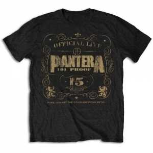 Pantera - 101 Proof, T-Shirt schwarz