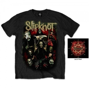 Slipknot - Come play dying, T-Shirt schwarz