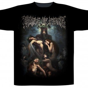 Cradle Of Filth - Hammer Of The Witches, T-Shirt schwarz