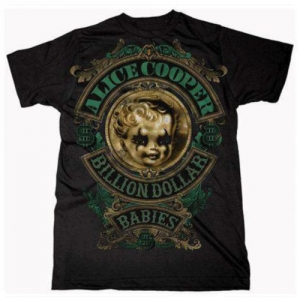 Alice Cooper - Billion Dollar Babies, T-Shirt schwarz
