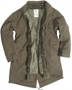 US Shell M65 Fishtail Parka oliv