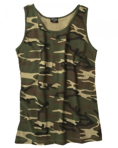 Camouflage Tank Top woodland