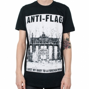 Anti-Flag - Brandenburg Gate, T-Shirt schwarz