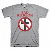 Bad Religion - Crossbuster, T-Shirt heather gray