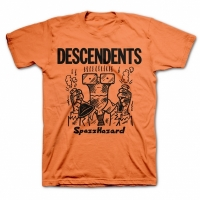 Descendents - Spazzhazard, T-Shirt orange
