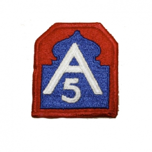 US Aufnäher 5th Army