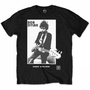 Bob Dylan - Blowing in the wind, T-Shirt schwarz