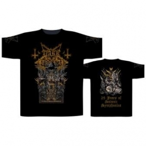 Dark Funeral - 25 Years Of Satanic Symphonies, T-Shirt schwarz