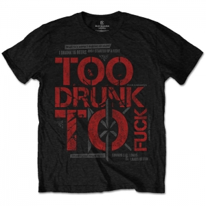 Dead Kennedys - Too Drunk To Fuck, T-Shirt schwarz