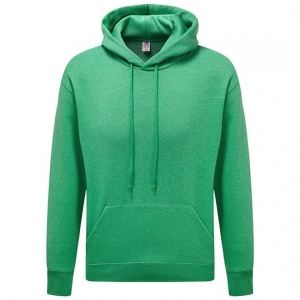Hooded Sweater retro heather green