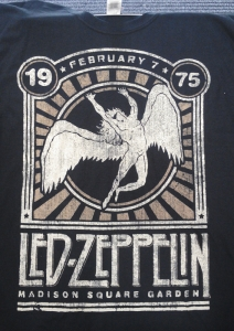Led Zeppelin - Madison Square Garden '75, T-Shirt schwarz