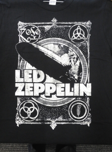 Led Zeppelin - Vintage Shook Me, T-Shirt schwarz