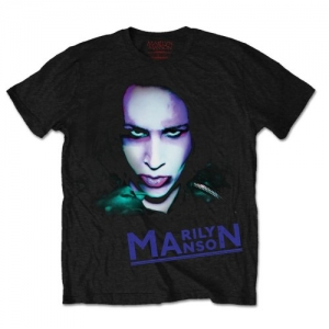 Marilyn Manson - Oversaturated Photo, T-Shirt schwarz