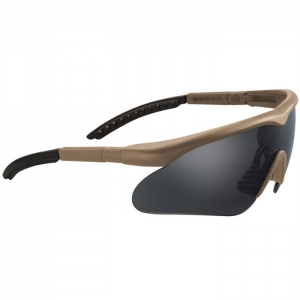 SWISS EYE® Brille Raptor coyote