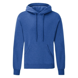 Hooded Sweater retro heather royalblue