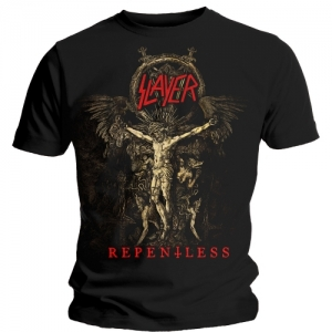 Slayer - Cruciform Skeletal, T-Shirt schwarz