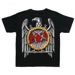 Slayer - Silver Eagle, T-Shirt schwarz