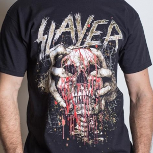 Slayer - Skull Clench, T-Shirt schwarz