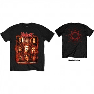 Slipknot - Rusty Face, T-Shirt schwarz