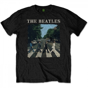 Beatles - Abbey Road, T-Shirt schwarz