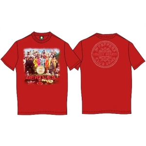 Beatles, The - Sgt. Pepper, T-Shirt rot