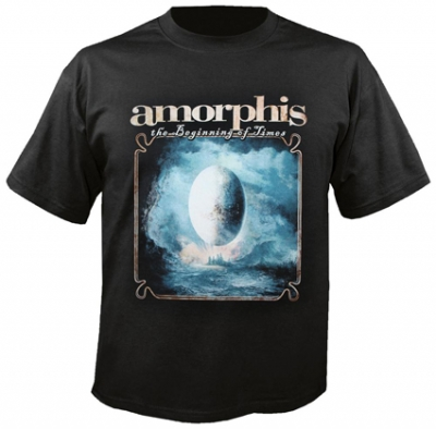 Amorphis - The beginning of times, T-Shirt schwarz