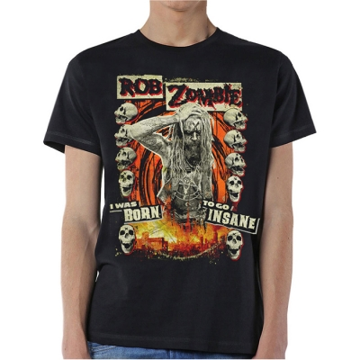 Rob Zombie - Born To Go Insane, T-Shirt schwarz