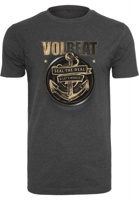 Volbeat - Seal The Deal, T-Shirt dunkelgraumeliert
