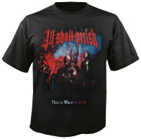 All Shall Perish - This is where it ends, T-Shirt schwarz