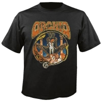 Orchid - Decadence, T-shirt schwarz